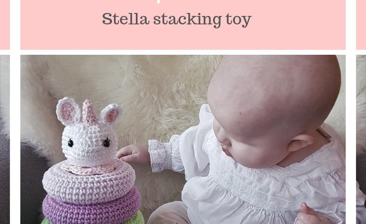 Stacking toy FREE pattern!