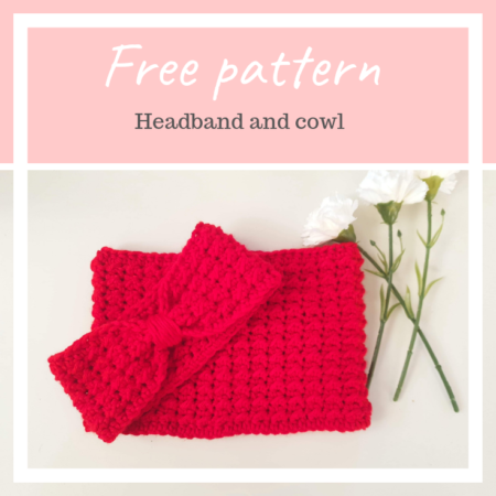 Anna-maria cowl – FREE crochet pattern