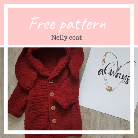 Nelly coat – FREE crochet pattern in 4 sizes