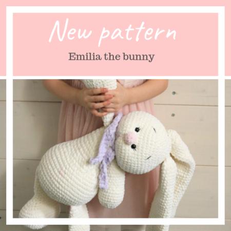 Emilia Bunny crochet pattern