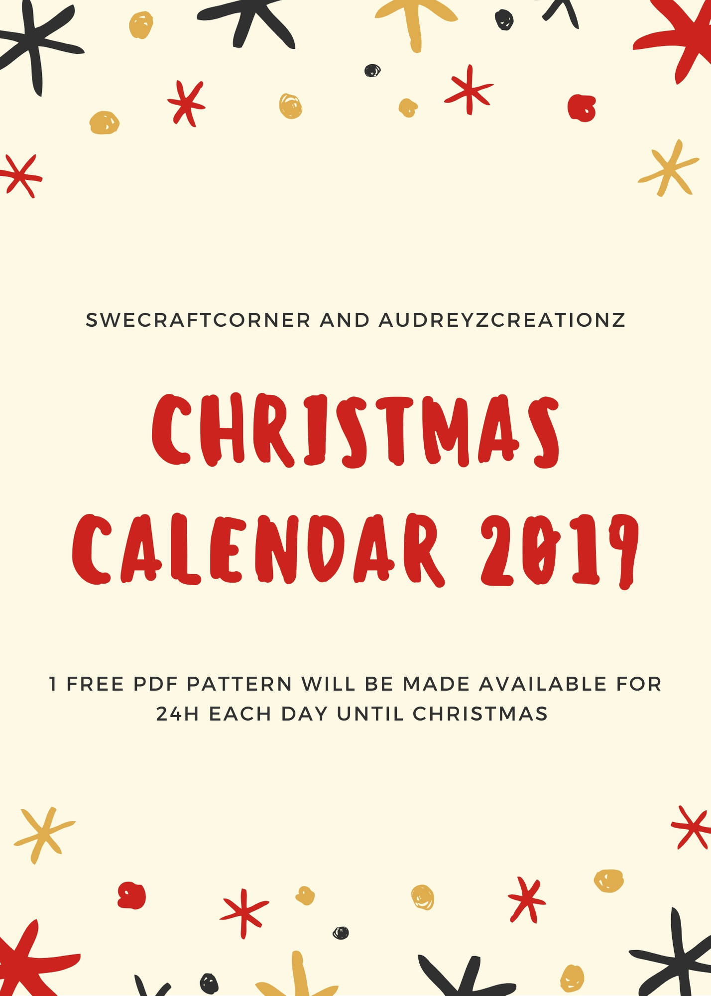 Christmas calendar 2019 – FREE PDF DOWNLOADS